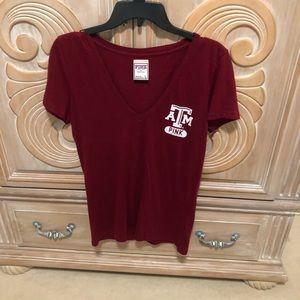 Pink A&M tshirt